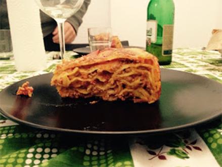 lasagna al ragù