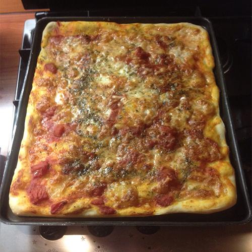 pizza in teglia rapida