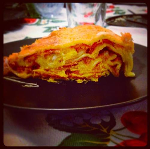 lasagna alla zucca