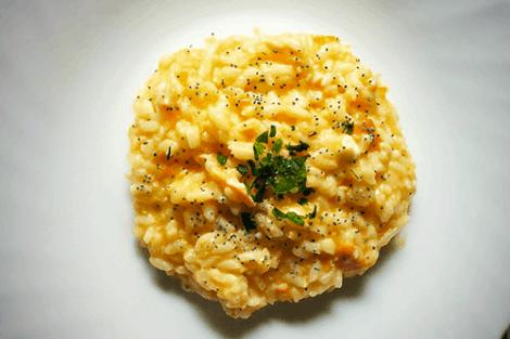 risotto salmone e primosale