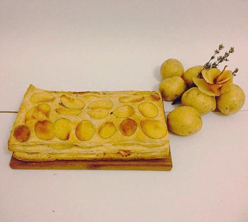 torta salata di sfoglia e patate