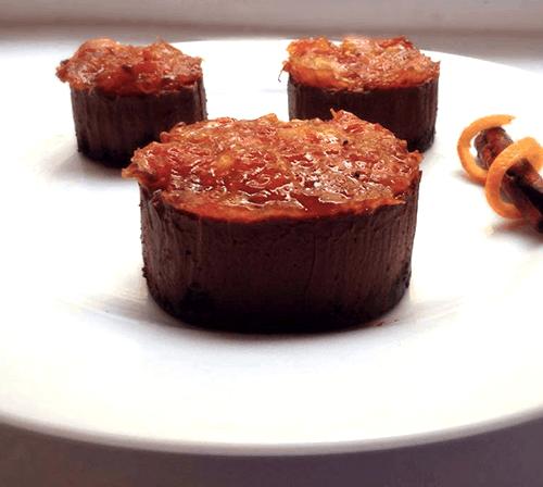 tortini freddi al cioccolato