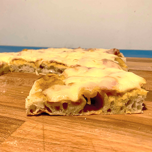 pizza in teglia romana
